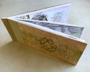 1915 handmade book - Susan Hart Henegar - Tapestries & Custom Textiles