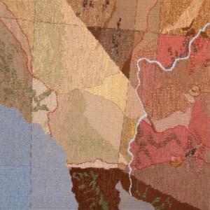 phantom rach tapestry - Susan Hart Henegar - Tapestries & Custom Textiles