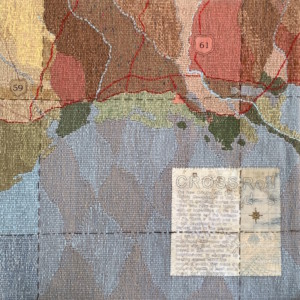 crossroads tapestry - Susan Hart Henegar - Tapestries & Custom Textiles