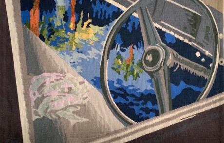 cruise control - Susan Hart Henegar - Tapestries & Custom Textiles