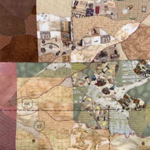 dodge city quilt - Susan Hart Henegar - Tapestries & Custom Textiles