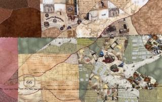 dodge city quilt - Susan Hart Henegar - Tapestries & Custom Textiles