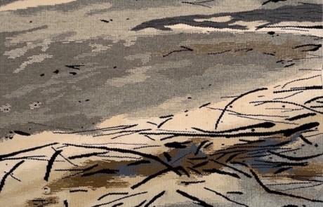 frazers wadering - Susan Hart Henegar - Tapestries & Custom Textiles