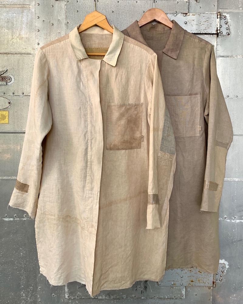 hand dyed shirts - Susan Hart Henegar - Tapestries & Custom Textiles