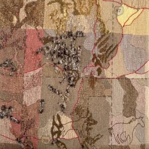 hart line tapestry - Susan Hart Henegar - Tapestries & Custom Textiles