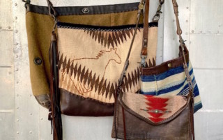 historic textile bags - Susan Hart Henegar - Tapestries & Custom Textiles