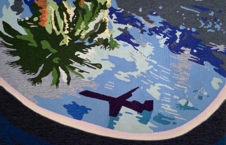 jetstream - Susan Hart Henegar - Tapestries & Custom Textiles