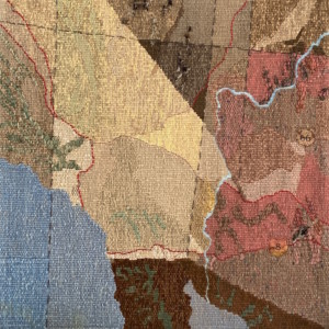 phantom ranch tapestry - Susan Hart Henegar - Tapestries & Custom Textiles