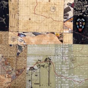 road trip quilt - Susan Hart Henegar - Tapestries & Custom Textiles