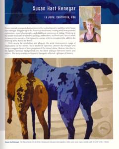 horses - Susan Hart Henegar - Tapestries & Custom Textiles