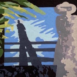 see the sounds - Susan Hart Henegar - Tapestries & Custom Textiles