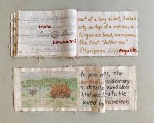 solitude books - Susan Hart Henegar - Tapestries & Custom Textiles