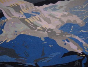 star bucks - Susan Hart Henegar - Tapestries & Custom Textiles