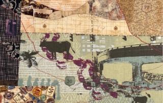 top town quilt - Susan Hart Henegar - Tapestries & Custom Textiles