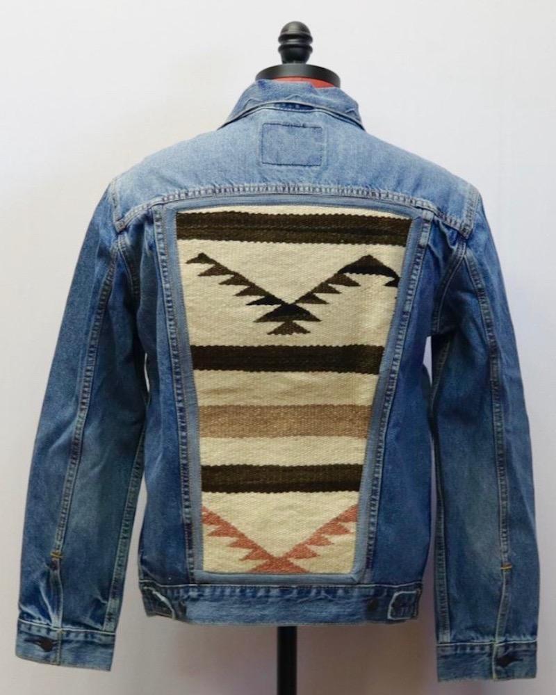 vintage navajo jacket - Susan Hart Henegar - Tapestries & Custom Textiles