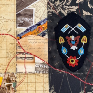 detail road trip - Susan Hart Henegar - Tapestries & Custom Textiles