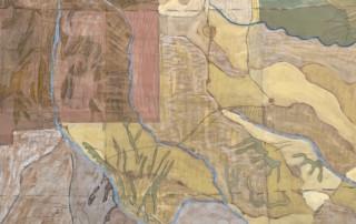 painted cartoon for lone star - Susan Hart Henegar - Tapestries & Custom Textiles