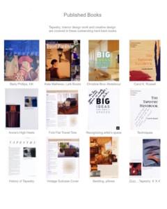 published books - Susan Hart Henegar - Tapestries & Custom Textiles